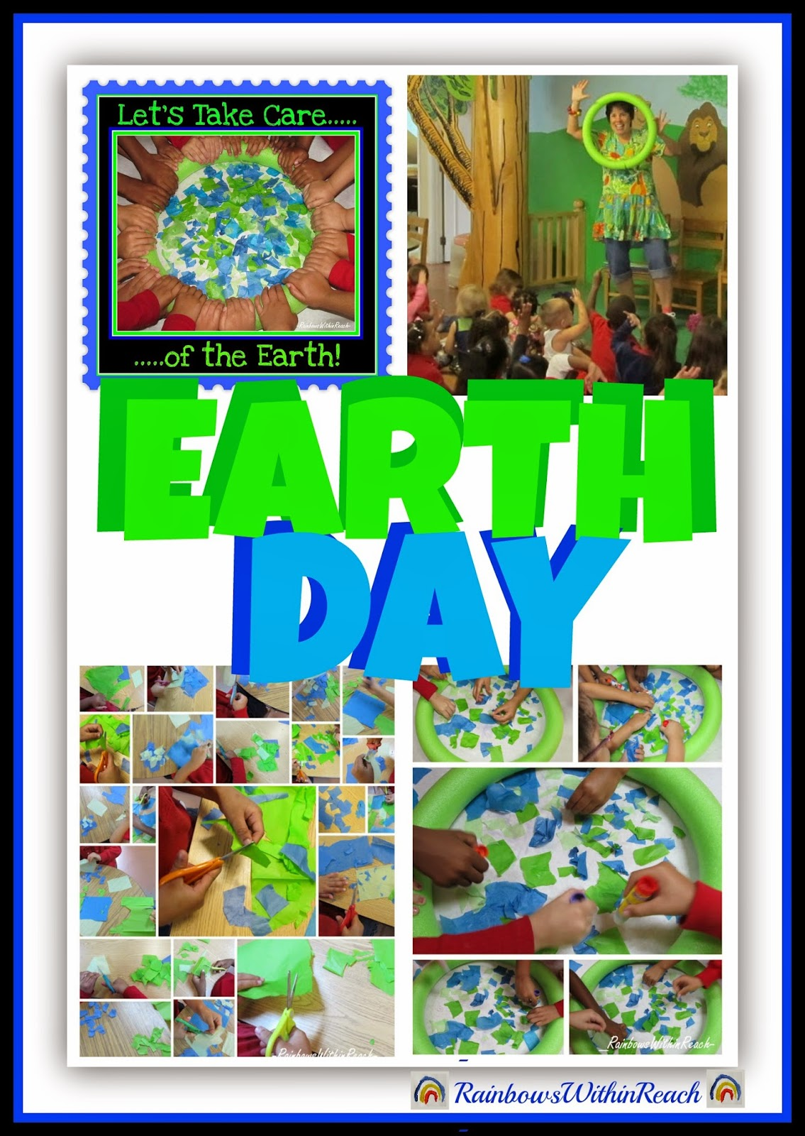Earth Day Preschool Collaboration with Debbie Clement