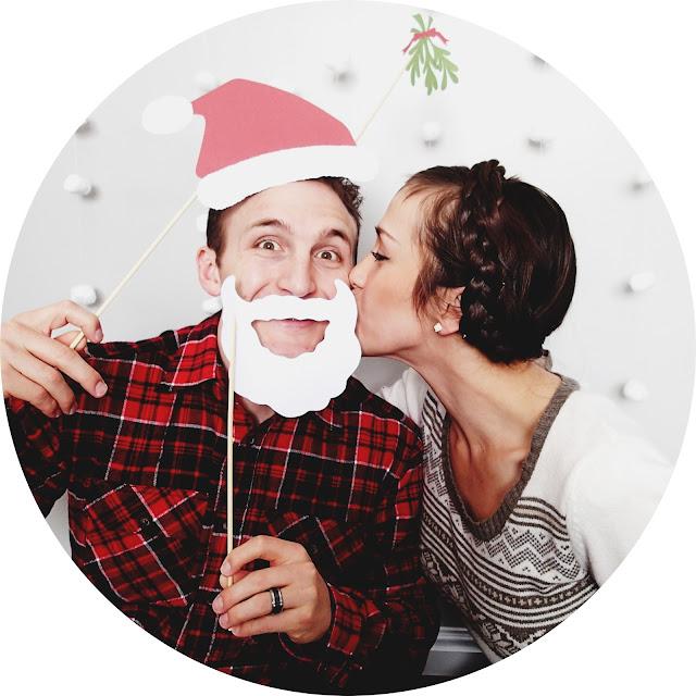 how to take christmas card photos