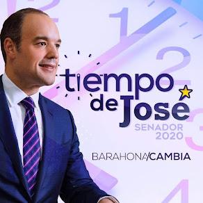 ES TIEMPO DE JOSE DEL CASTILLO, SENADOR 2020-2024 GERENTE, POLÍTICO UN GANADOR