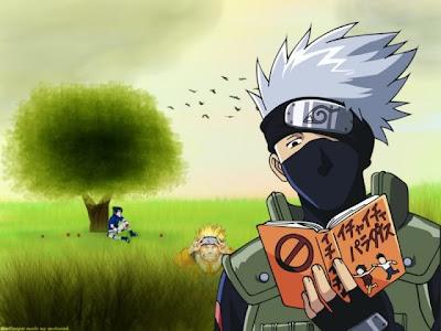 Saya rajin baca buku ninja, makanya jadi ninja