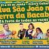 Bumba-meu-boi , quadrilhas, artistas e bandas serão atrações no mini São João na Terra da Bacaba