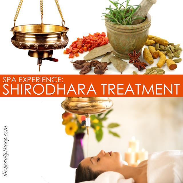 MUST TRY: SHIRODHARA TREATMENT