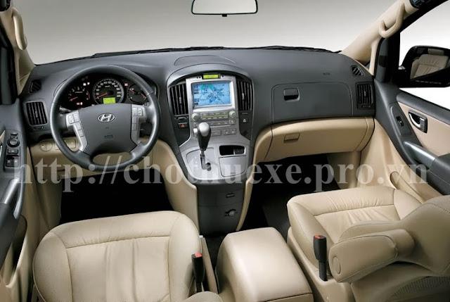 Cho thuê xe Hyundai Starex 9 chỗ