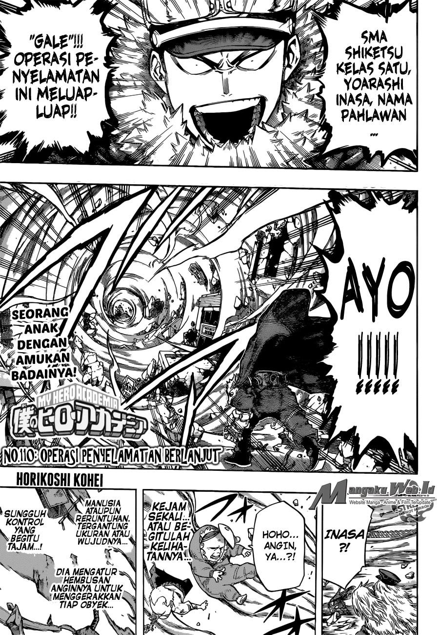 Boku no Hero Academia Chapter 110-1