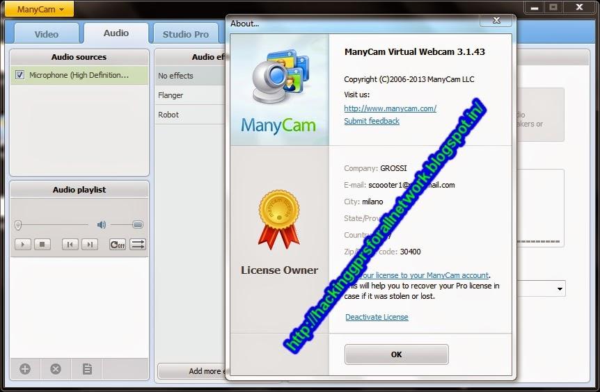 manycam pro activation code keygen