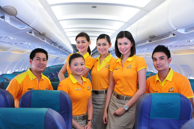 Hiring Cebu pacific cabin crews