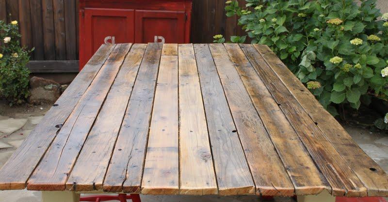 Farm Table To Plank Table Diy Redouxinteriors.com