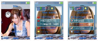 泰國豆花妹NEWWY SonyEricsson手機主題for Elm/Hazel/Yari/W20﹝240x320﹞