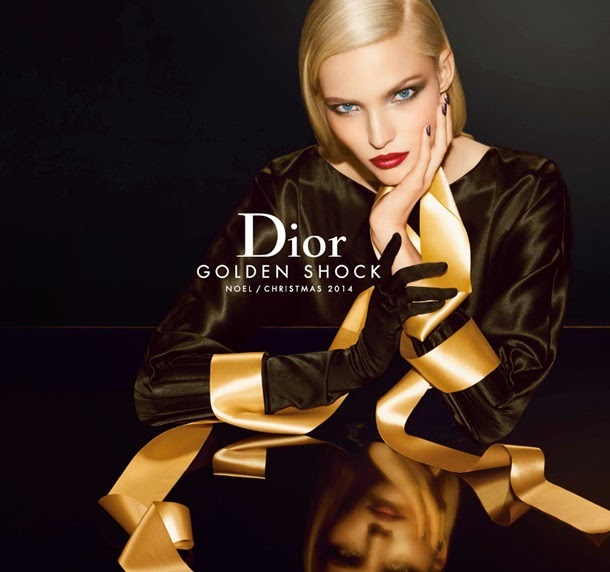 Dior Golden Shock Make Up Collection Holiday 2014