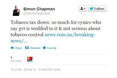 Simon Chapman - Propagandist