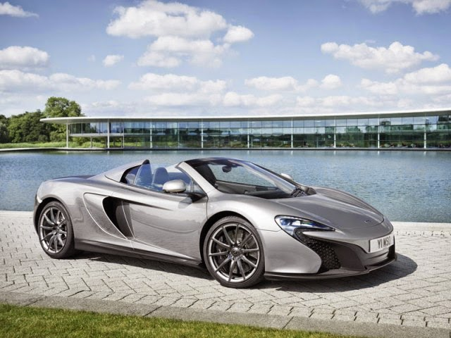 2015 McLaren MSO 650S Coupe and Spider