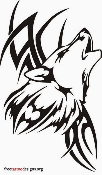 Best Tribal Wolf Tattoos (Gallery 1)