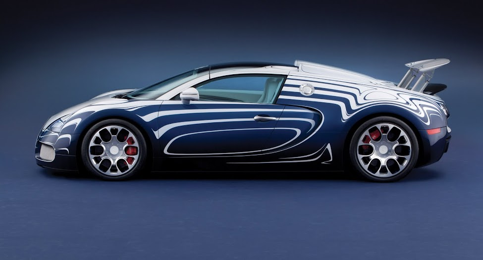 bugatti veyron l 39 orc blanc auto de porcelana cosas nicas. Black Bedroom Furniture Sets. Home Design Ideas
