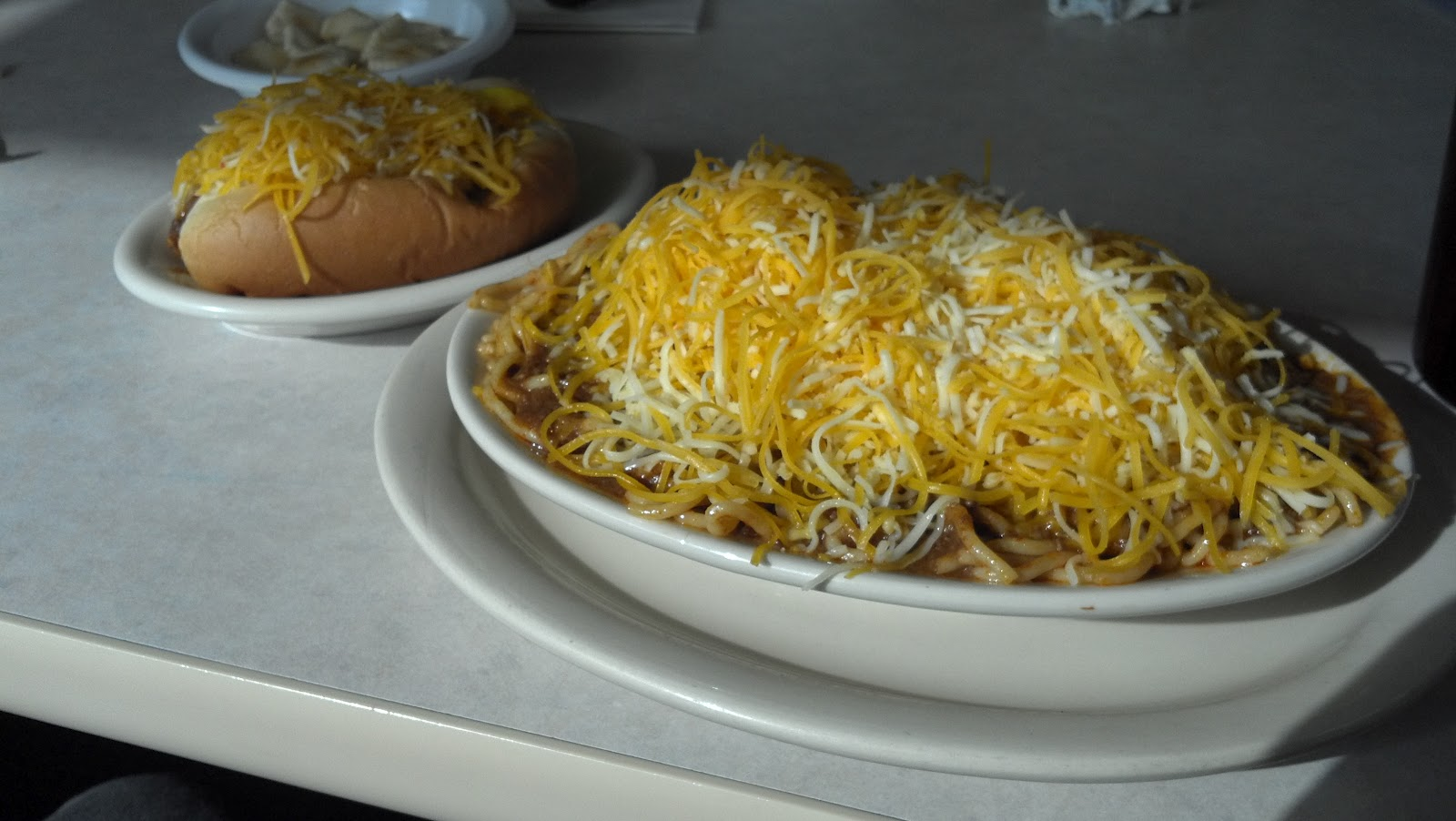 ... nnat i chili skyline chili joe john h and i ate at skyline chili tod