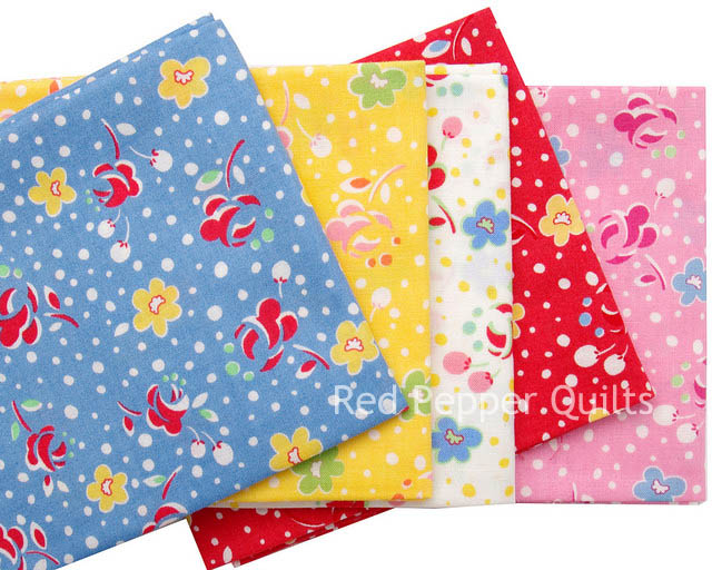 Retro Child Smile Spring 2015 - Lecien | Red Pepper Quilts
