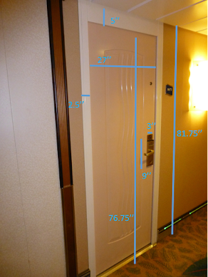 Backstreet Boys Royal Caribbean Cruise Door Measurement