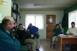 Jornada de trabajo en Oficina Puerto Aysén
