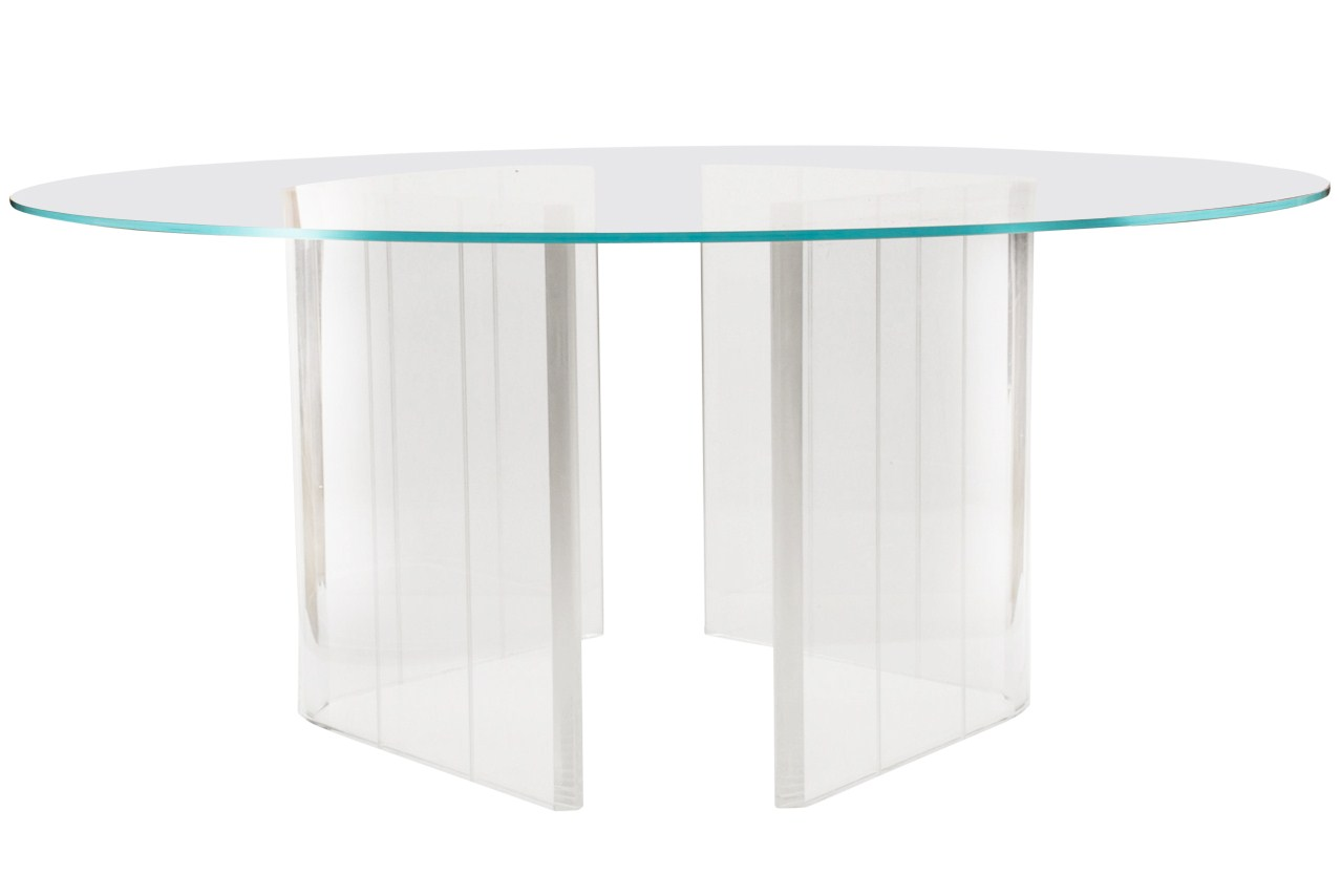 Lucite Furniture Legs Viewing Gallery