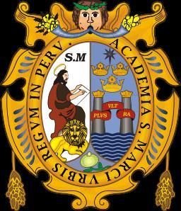 Universidad Nacional Mayor de San Marcos, UNMSM, cota de armas, escudo