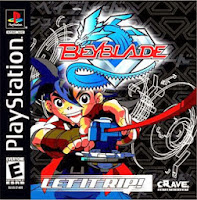 Game Beyblade PS1