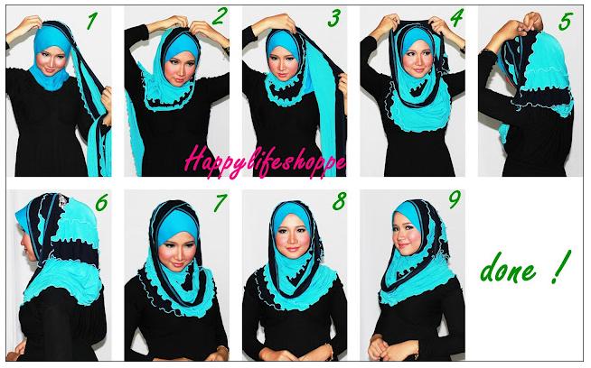 ... Terbaru 2013: Cara Memakai Jilbab Pashmina Simple Saat Ke Kampus