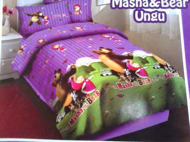 bedcover set karakter, bed cover anak, spreii karakter, bed cover murah