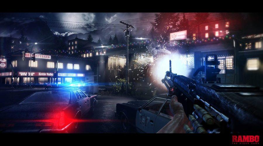 Rambo The Video Game screenshot