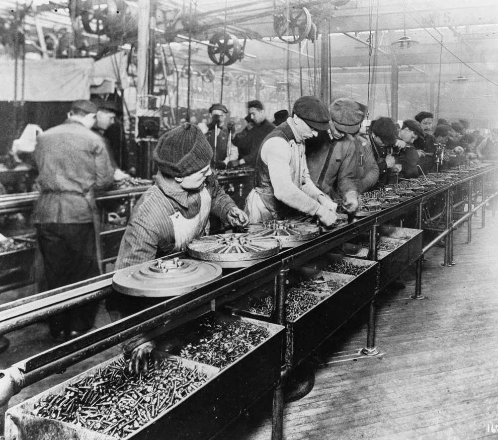 Assembly Line Henry Ford