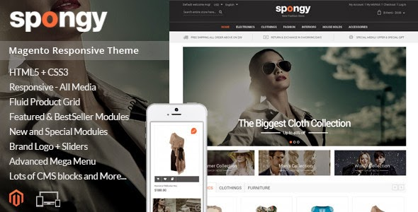 Download Magento Responsive Theme