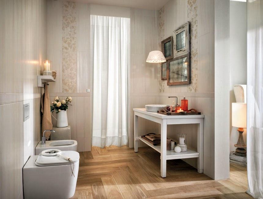 Decoracion Baños Estilo Shabby Chic:En un baño Shabby chic los muebles deben ser diferentes, es