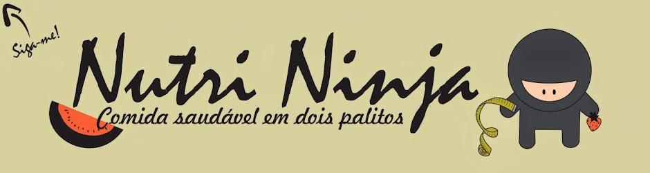 Nutri Ninja - comida saudável em dois palitos!