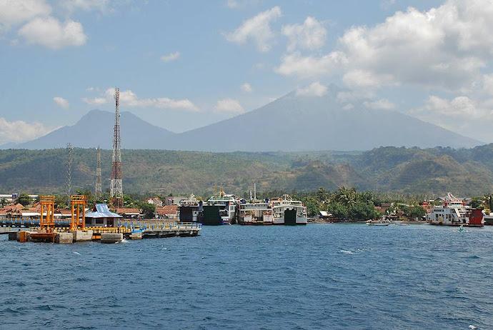 Silueta de la isla de Java