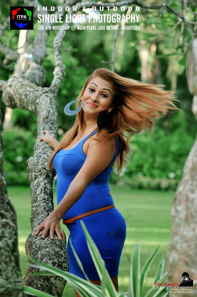 Fallon Michelle tight blue back