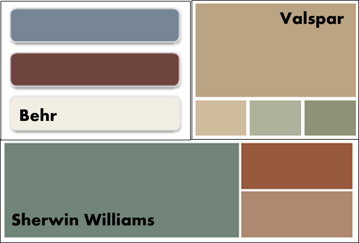 behr green paint palette submited images