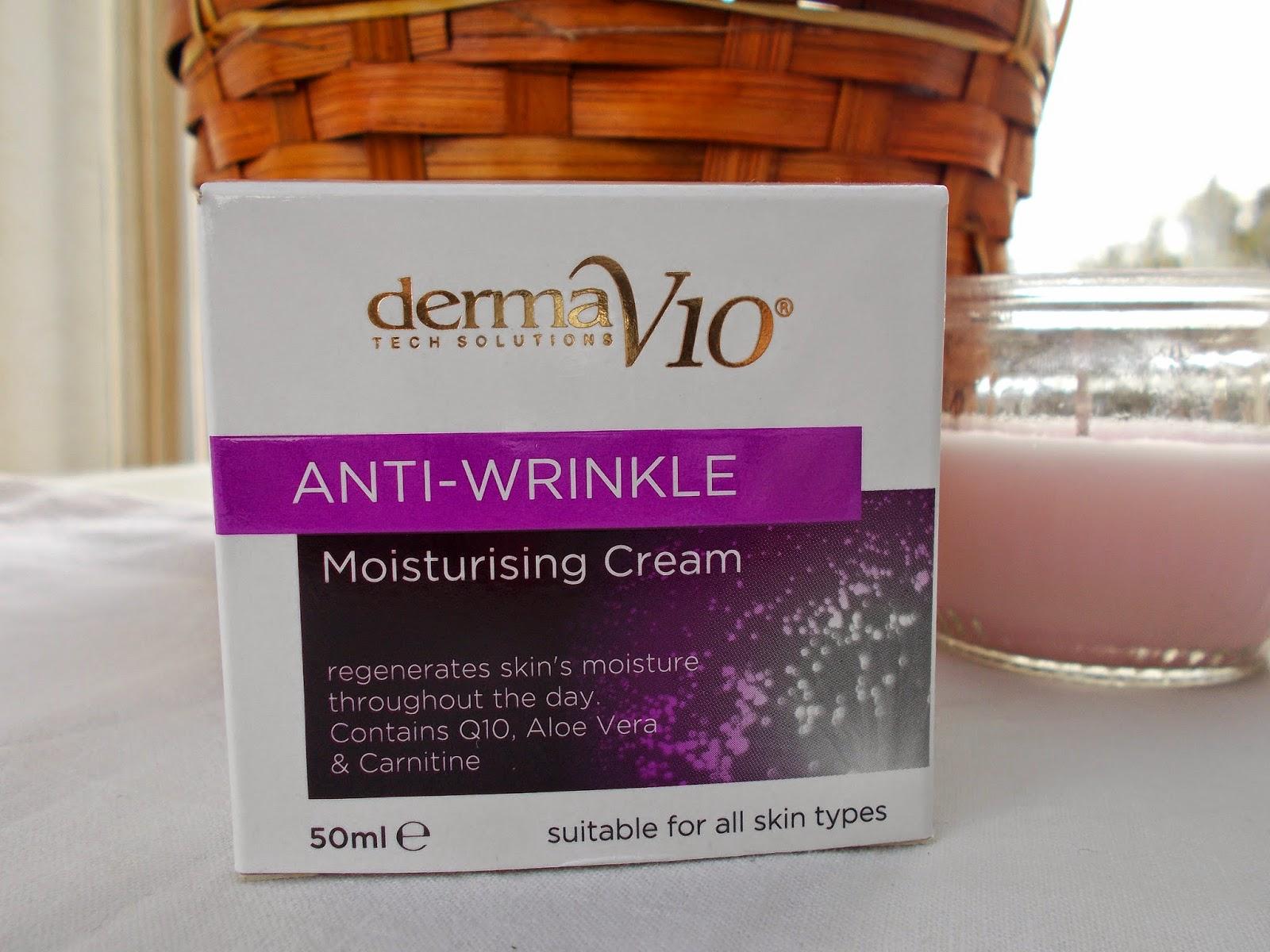 derma v10 anti wrinkle cream