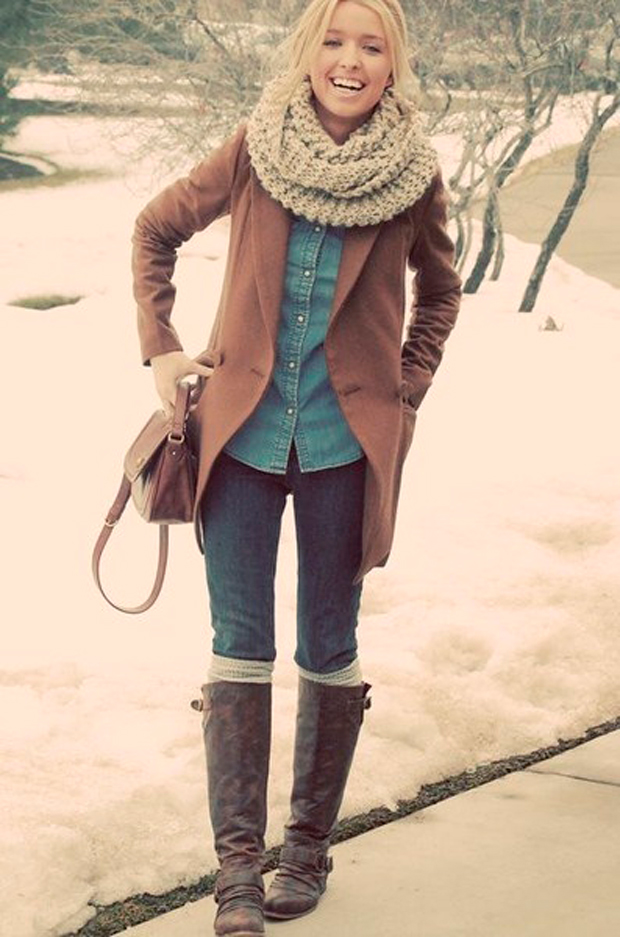 Cute warm winter outfits fashion