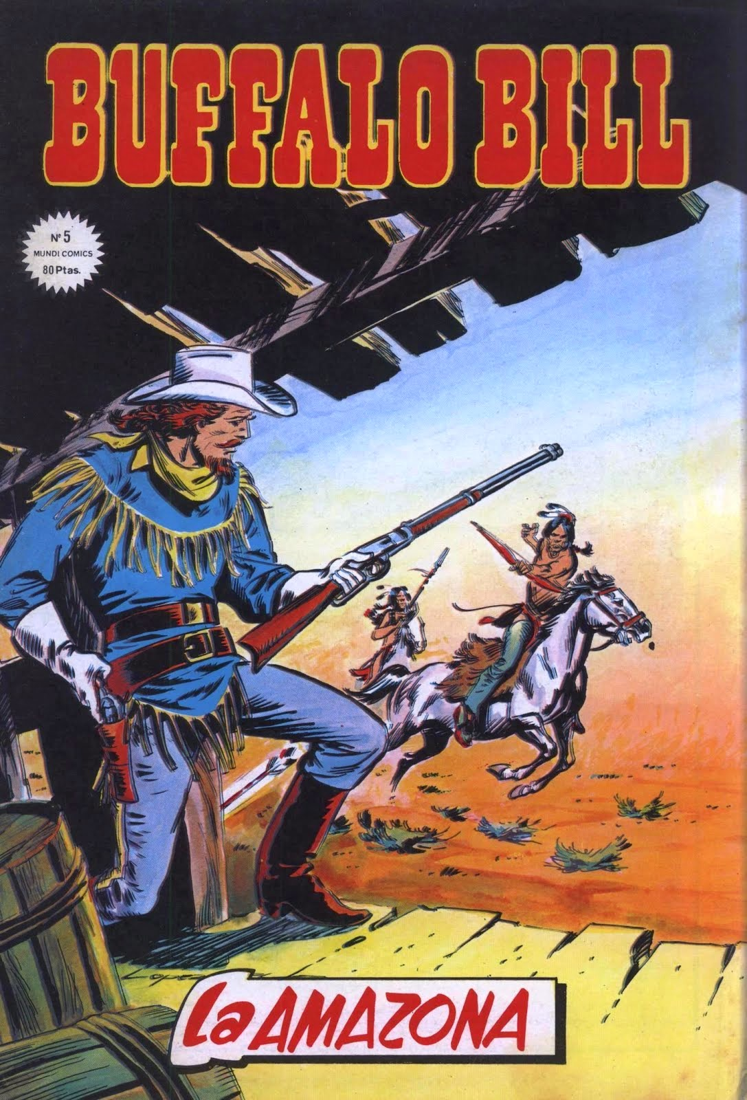 BUFFALO BILL MUNDI COMICS