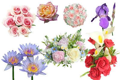 8 Arreglos florales PSD para el Día de las Madres totalmente gratis