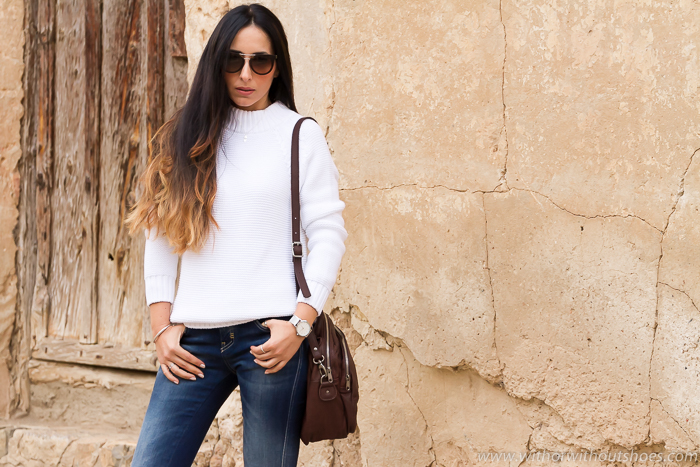 Blogger valenciana con pantalones vaqueros jeans que sientan bien de Meltin Pot