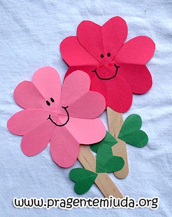 lembrancinhas flores de papel