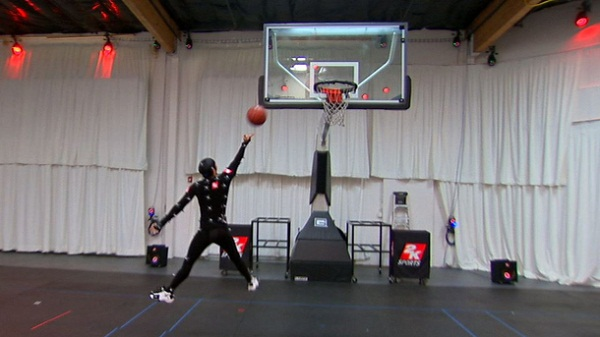 Revealed : The technology behind NBA 2K13