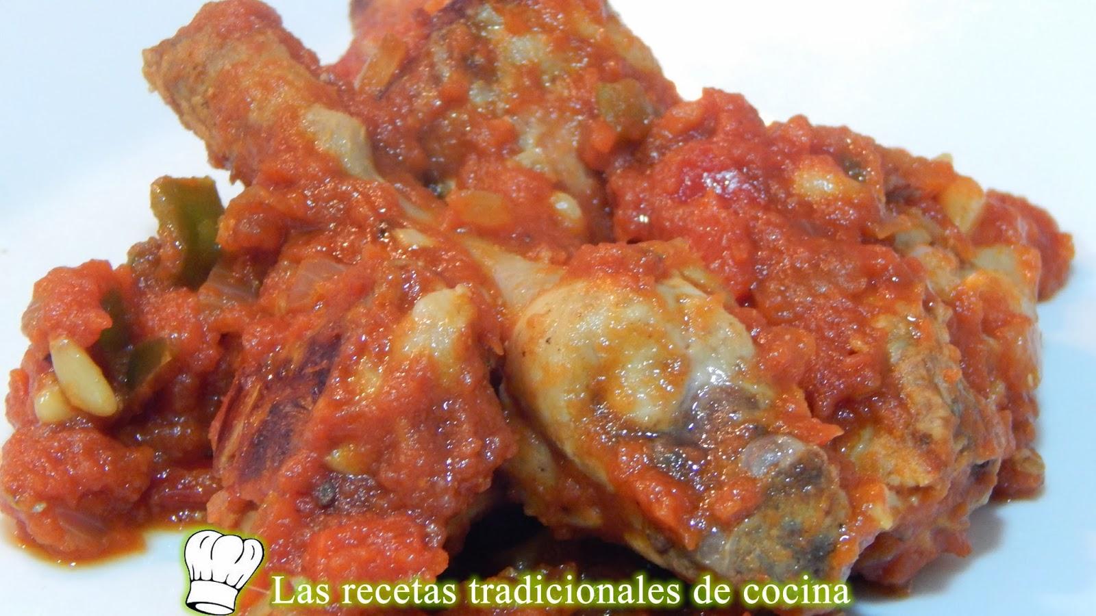 Recetas De Cocina Conejo | Receta Facil De Conejo Con Tomate Recetas De Cocina Con Sabor
