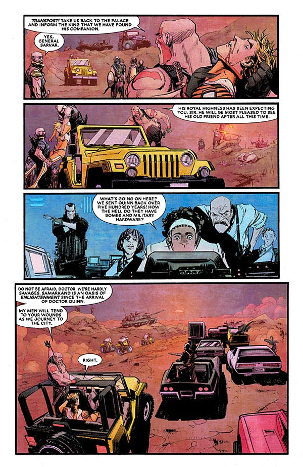 Twists and turns in Chrononauts as history is rewritten