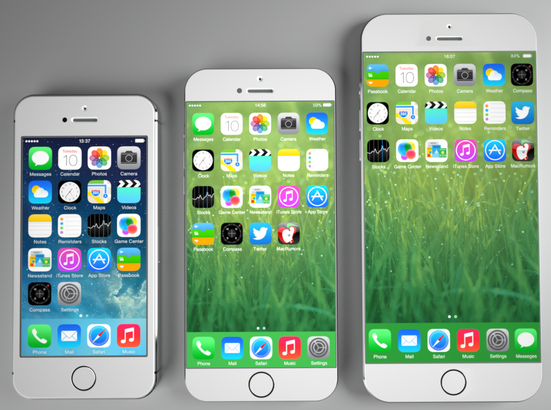 Possible Screen Size of Apple iPhone 6
