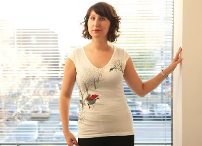 636x460vneck girls 01 New Threadless t shirts