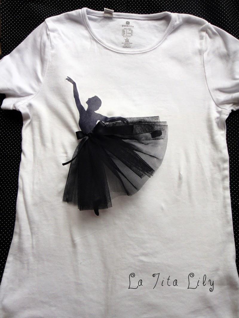 Camiseta bailarina