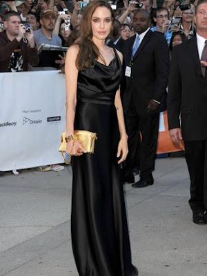 Fotos de Modelos Vestidos da Atriz Angelina Jolie