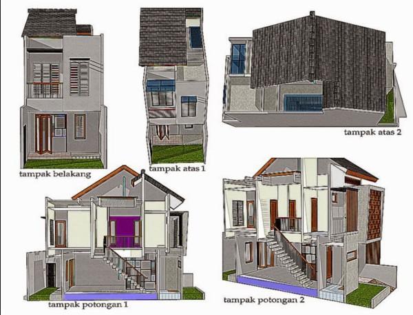 Cara Desain Rumah Kecil Minimalis Home Desainer Type