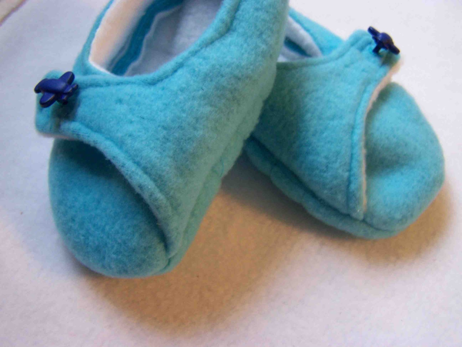 Made By Me. Shared With You. Fleece Slippers New Sizes