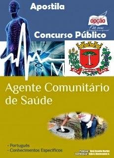 Apostila Concurso Agente Comunitário de Saúde de Curitiba (PR) 2014
